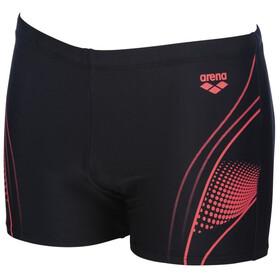 arena Fairness Shorts Heren, black /fluo red